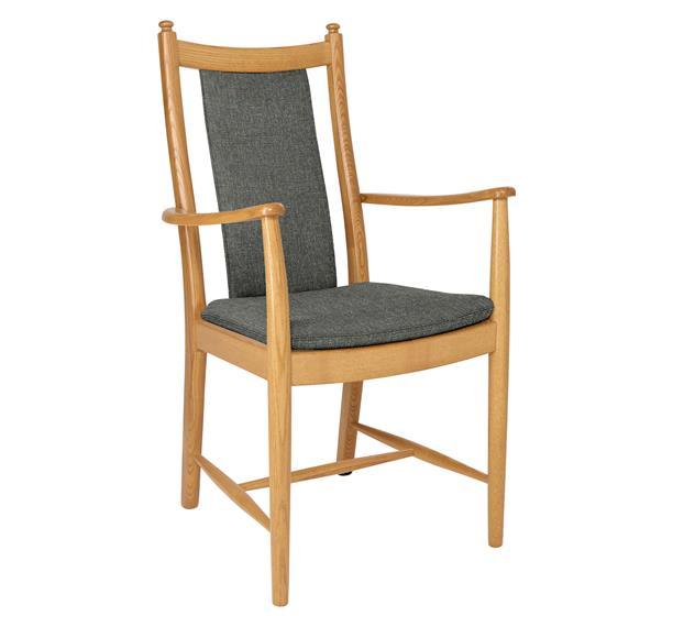 Image of Windsor Penn Padded Back Dining Armchair
